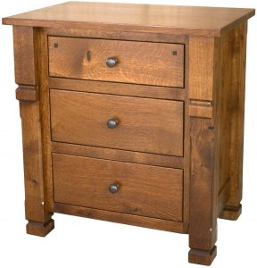 Brockport Amish Wide Nightstand