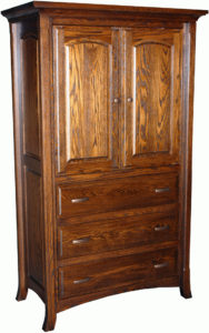 Homestead Three-Drawer Armoire