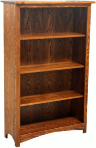 Shaker 39-Inch Bookcase