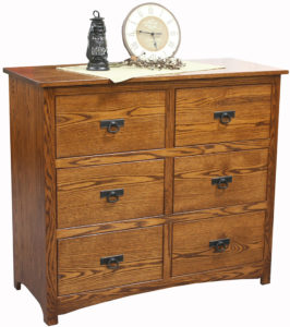 Shaker Six-Drawer Mule Chest