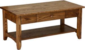 Shaker Open Oak Coffee Table