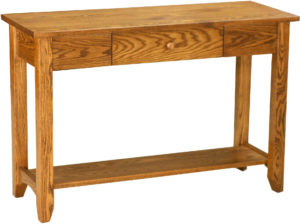 Shaker Open Oak Sofa Table