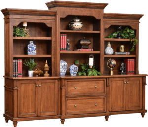 Bridgeport Base and Three Piece Hutch