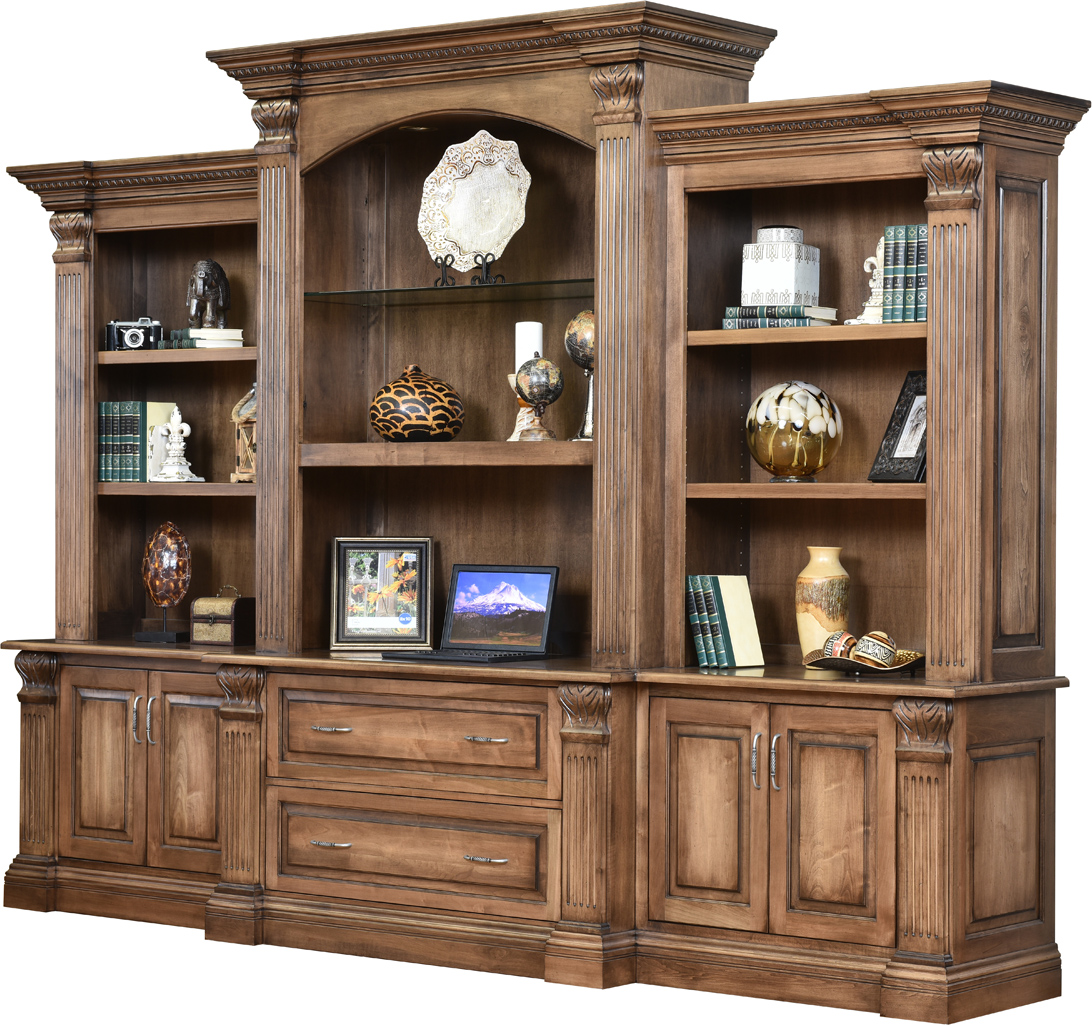 Montereau Base and Three Piece Hutch
