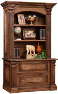 Montereau Lateral File with Bookshelf