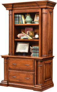 Paris Lateral File with Bookcase