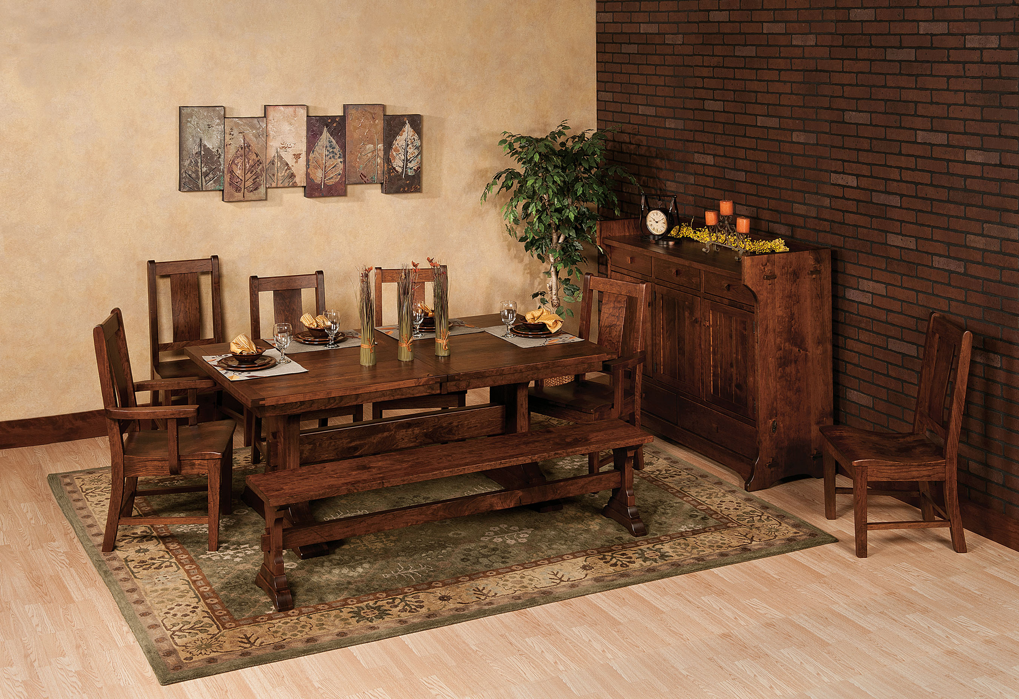 Manchester Dining Table Amish Manchester Dining Table