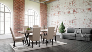 Xavier Trestle Dining Set