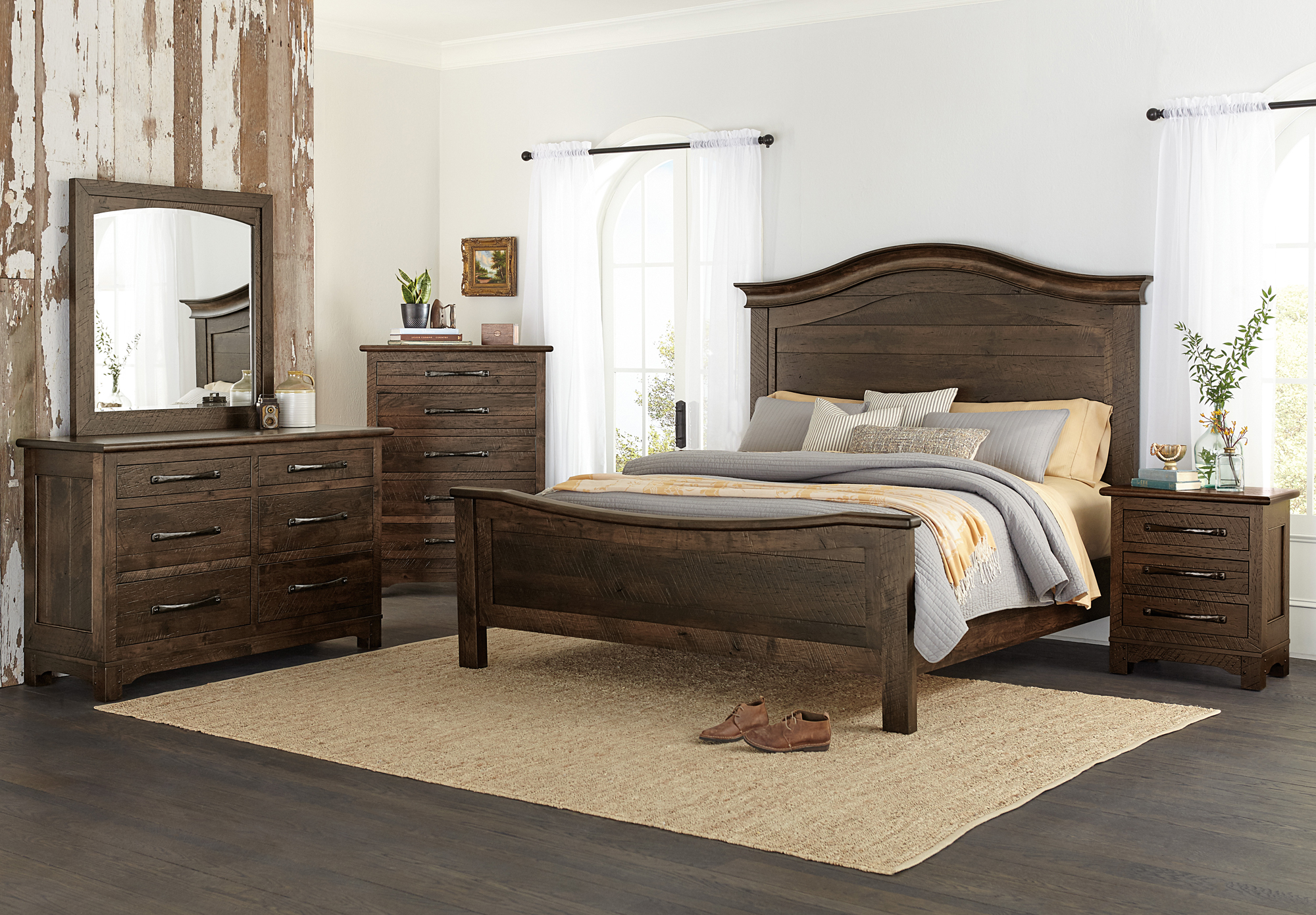 farmhouse signature bedroom set | amish farmhouse