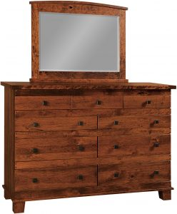 Larado Nine Drawer Dresser