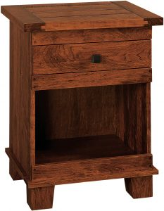 Larado One Drawer Nightstand