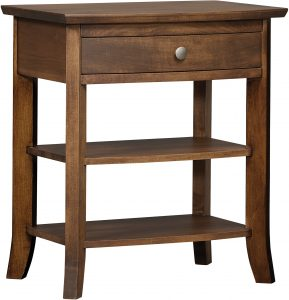 Laurel One Drawer Nightstand