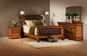 Marshfield Leather Bedroom Collection
