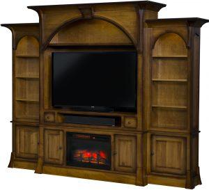 Breckenridge Fireplace Entertainment Center