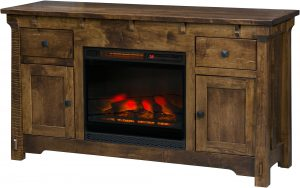 Manitoba Fireplace TV Cabinet