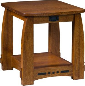 Colebrook Open Style End Table