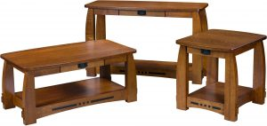 Colebrook Open Occasional Table Set