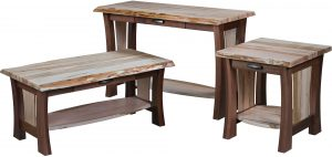 Legacy Live Edge Occasional Table Set