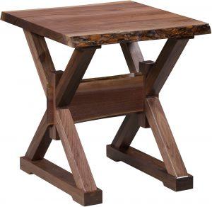 Remington Live Edge End Table