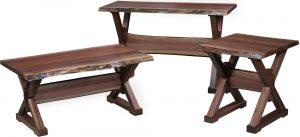 Remington Live Edge Occasional Table Set