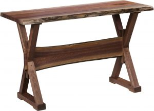 Remington Live Edge Sofa Table