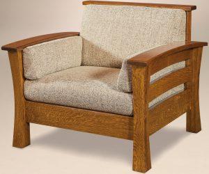 Barrington Chair and Footstool