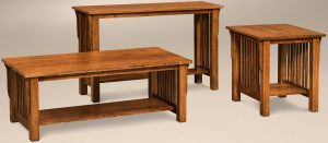 Slat Occasional Table Set