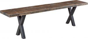 Laredo Rough Sawn Bench