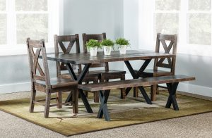Laredo Trestle Dining Set