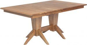Milan Double Pedestal Table