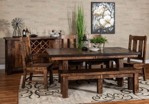 Houston Trestle Dining Room Set