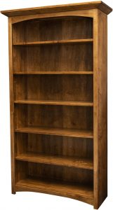 Mission Arched Trim Bookcase