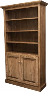Traditional Adjustable Shelf Bookcase