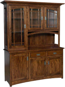 Mondovi Wood Hutch