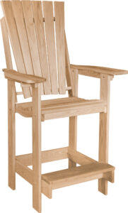 Euro Patio Bar Chair
