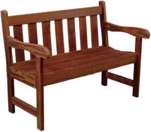 Cedar 4-Foot Garden Bench