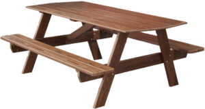 Cedar 6-Foot Picnic Table