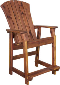 Cedar Balcony Chair