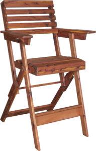 Cedar Director's Chair
