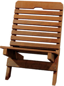 Cedar Fisherman's Chair