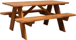 Cedar Child's Picnic Table