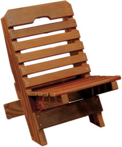 Cedar Youth Fisherman's Chair