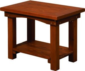 Cedar Large Side Table