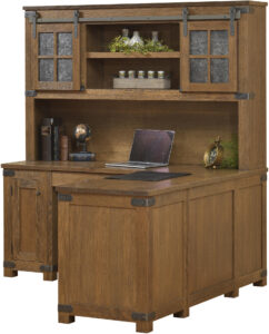 Georgetown Corner Desk with Hutch