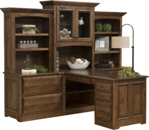Liberty Partner Desk with Hutch