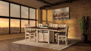 Tulsa Cabinet Dining Set