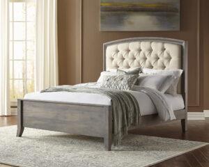 Ashville Upholstered Arch Bed
