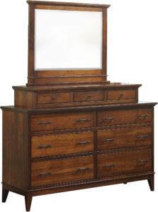 Cortland Dresser with Mirror