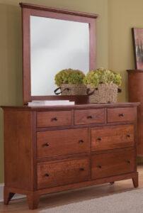Riceland Dresser with Mirror