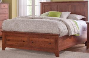 Riceland Paneled Bed